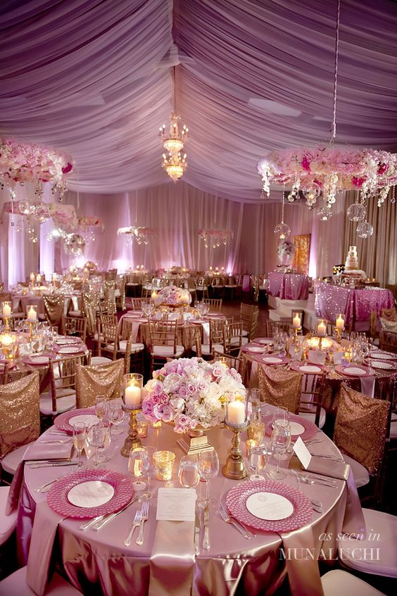 Quinceanera Hall Decorations Pink What to look for when ...