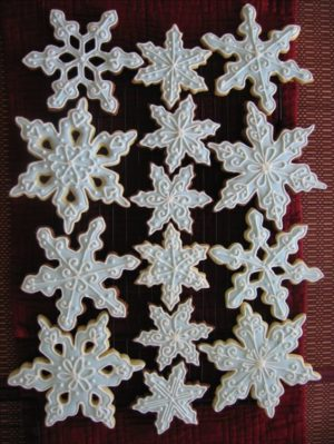 Snowdusted cookies