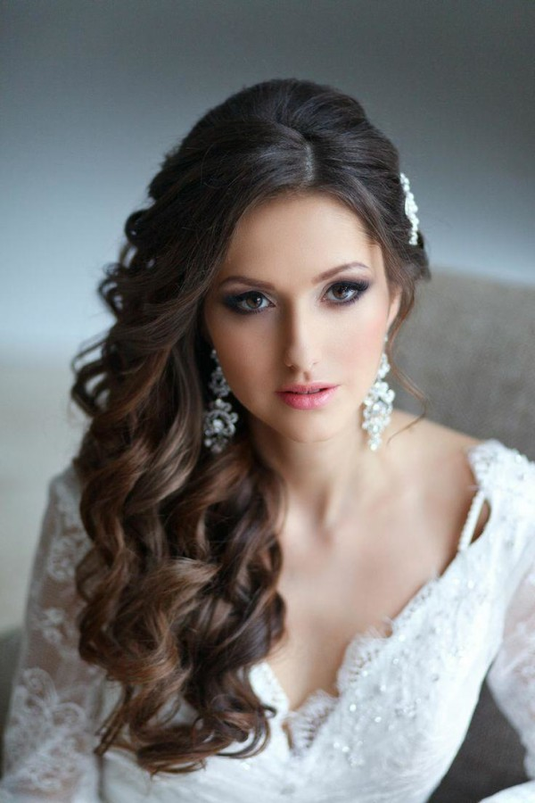 quinceanera hairstyles to the side